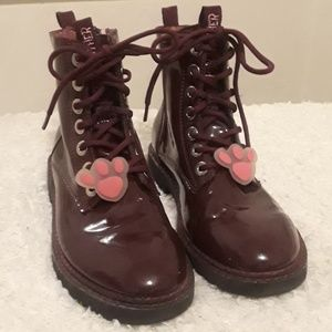 Other - Zara kids combat pink panther boots